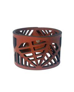 Leather Vessel Cuff