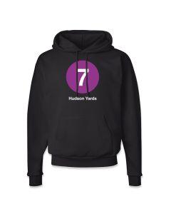 Womens Hudson Yards 7 Train Hoodie